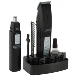 Wahl Cordless Battery Operated Beard Trimmer with Bonus Ear, Nose and Brow Trimmer