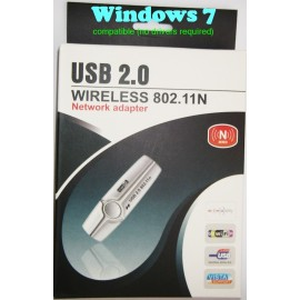 Wireless 802.11n USB2.0 Wifi MIMO Network 300Mbps WLAN adapter