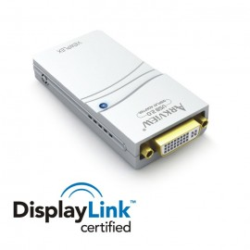 Arkview USB to 2.0 DVI / HDMI / SVGA Display Adapter (2048x1152)
