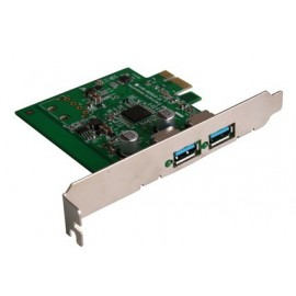 USB 3.0 2-Port Desktop PCI Express Card - Transfer rates up to 5Gbps -10x faster than USB 2.0!