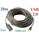 Sabrent 20m Metres USB 2.0 ACTIVE EXTENSION BOOSTER CABLE