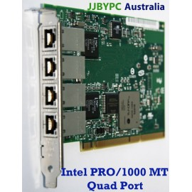 Intel PWLA8494MT PRO/1000 MT Quad Port Server Adapter 10/100/1000Mbps PCI-X Syd