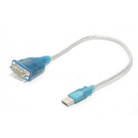 USB to Serial (9 pin) Adapter 1 Ft Cable