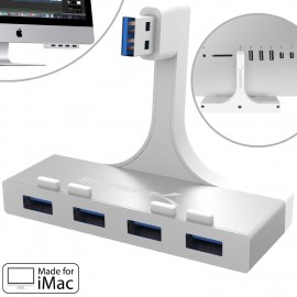 SABRENT 4-Port USB 3.0 Hub For iMac Slim Unibody HB-IMCU (Not Aluminum)