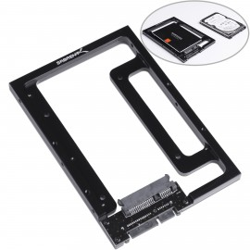 "Sabrent 2.5"" SSD & SATA Hard Drive to Desktop 3.5"" SATA Bay Converter Mounting Kit (BK-PCBS)"